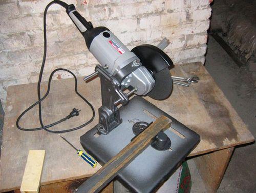 Отрезная машинка из болгарки