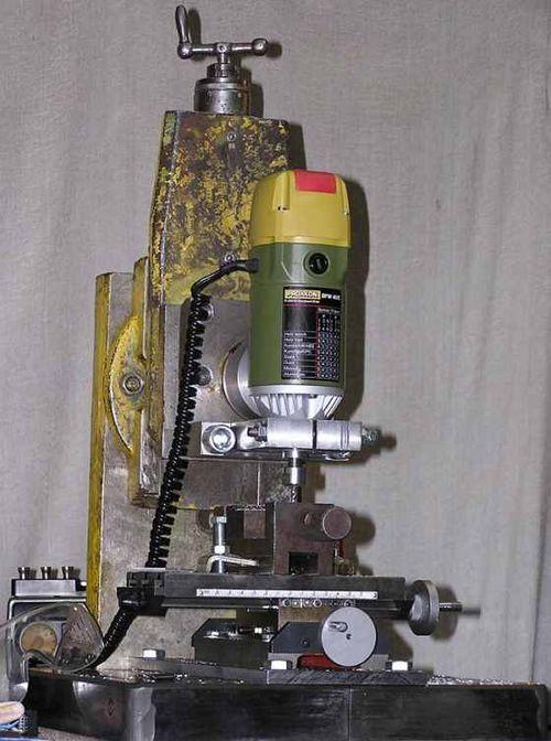 Фрезерный станок из гравера